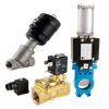 actuated valve group