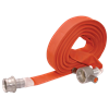Coated Fire Hose with Couplings