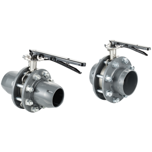 QUICK CONNECT BUTTERFLY VALVES STAINLESS STEEL