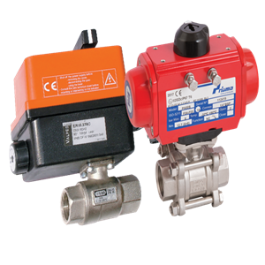 Actuated Ball Valves Group