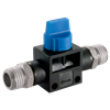 Manual Shut-Off Valves BSPT X BSPT