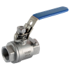 2 Peice Full Bore St St Ball Valve