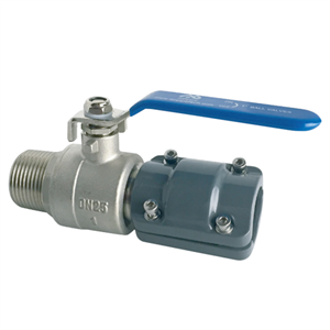 BALL VALVE MALE QUICK PLUG